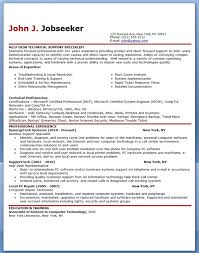 Resume Template It It Resumes Examples Us Resume Samples Chronological Resume