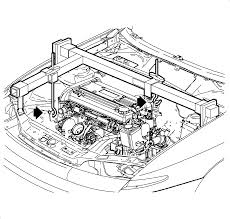 repair instructions engine mount replacement 2002 saturn l100