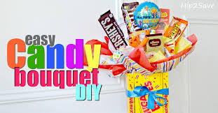 balloon and candy bouquets diy candy bouquet easy gift idea hip2save