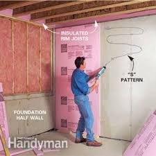 Exterior Basement Wall Insulation by How To Finish A Basement Framing And Insulating Family Handyman