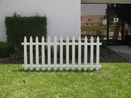 Garden Boundary Ideas by Exterior Ideas French Gothic Wood Picket Fences Fence Pickets