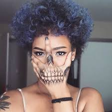 how to color natural afro textured hair best 25 blue natural hair ideas on pinterest blue hair black