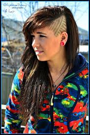 sidecut hairstyle women side cut design hair pinterest edgy hair and hair cuts