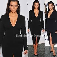 kim kardashian long sleeve little black dress cocktail dresses