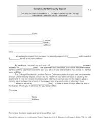 sample security resume best photos of nj security deposit demand letter security landlord security deposit return letter