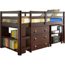 Bunk Bed With Study Table Desk Bunk Beds For Children Loft With Rectangle Integrated
