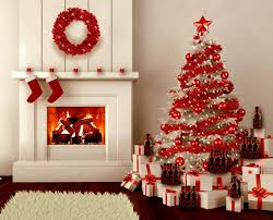pictures of christmas decorations in homes interior design log homes red christmas decor christmas sweater