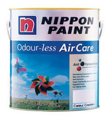 nippon odourless aircare paints environment friendly interior