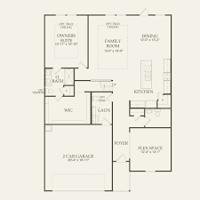 Avalon Floor Plan by Claypool At Avalon In Pflugerville Texas Pulte