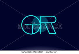 gr g r blue line circle stock vector 673882594 shutterstock