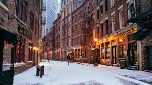 other downtown manhatten winter new york city