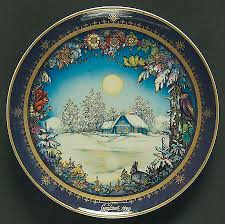 christmas plates heinrich h c christmas plates at replacements ltd