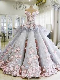 quinceanera dresses light pink gown grey tulle pink lace sleeves quinceanera dresses