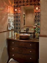 modern minimalits wooden vanity table for bathroom with gold