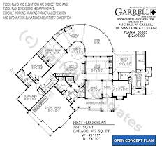 floor plans house nantahala cottage house plan house plans by garrell associates inc