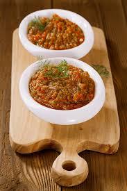 cuisine libanaise recettes recette caviar d aubergines à la libanaise