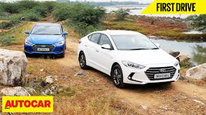 hyundai elantra price in india hyundai elantra drive autocar india
