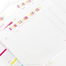 editable business budget worksheets printable crush