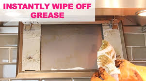 cleaning greasy kitchen cabinets how to clean a greasy kitchen hood photo pic grease cleaning off