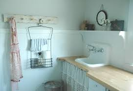 wire shelf ideas laundry room shabby chic style with wood
