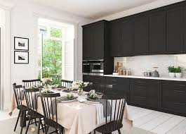black kitchen cabinets images pros and cons of black kitchen cabinets designing idea