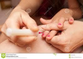 child nail polish stock photo image 43615353