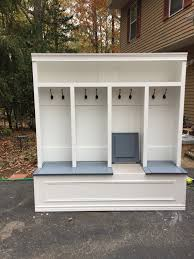 Entryway Locker System Mudroom Locker 78x70x 18 Available In White With Stained Khona