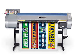 sticker grand format mimaki