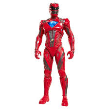 power rangers movie red ranger action figure 20