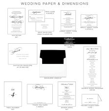 wedding program dimensions creating a cohesive feel for your wedding blush paperie