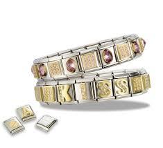 link bracelet charms images Italian charm bracelet wikiwand jpg