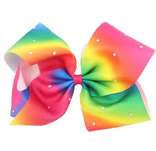 large hair bows 8 large hair bows jojo siwa bows rainbow bows alligator