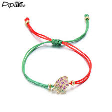 rope bracelet designs images Pipitree designer brand lovely christmas jewelry fruit cz grape jpg