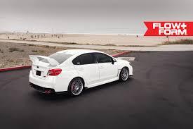 silver subaru wrx 2017 subaru wrx sti with ff15 in liquid silver hre performance wheels