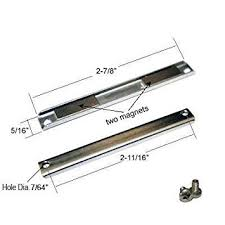 shower door replacement magnet with screws shower latch amazon com