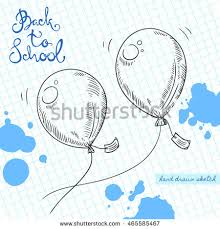 balloon sketch stock images royalty free images u0026 vectors