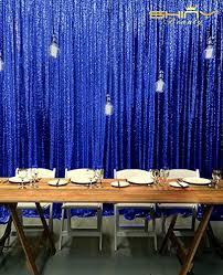 Wedding Backdrop Amazon Amazon Com 8 X 8 Ready To Dispatch Royal Blue Sequin Backdrops