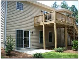 Sunrooms For Decks Decks Patios U0026 Sunrooms Aw Homes Moore County Nc