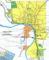 Iowa State Map With Cities by Interstate Guide Interstate 129 Iowa Nebraska