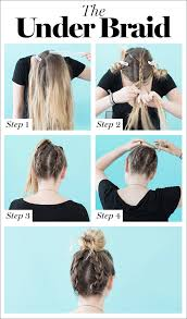 Easy On The Go Hairstyles by How To Braid Hair 8 Cute Diy Hairstyles For Every Hair Type Glamour