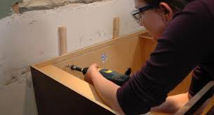 arresting how to install cabinets uneven wall tags how to