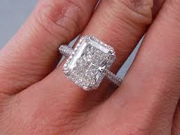 radiant cut engagement ring best 25 radiant cut ideas on radiant cut diamond