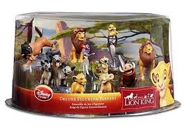 disney the king exclusive 9 deluxe figurine playset by