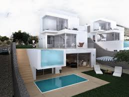 Ground Floor And First Floor Plan by Unic Villas Top Quality Contemporary Villa Under Construction