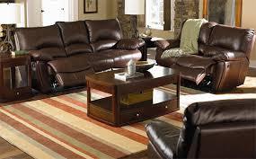 Reclining Sofa Set Sofa Sets Clifford 3 Leather Reclining Sofa Set
