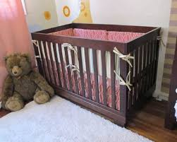 Baby Crib Bed Skirt Project Nursery Crib Skirt How To Pepper Design