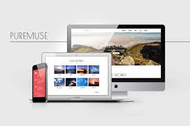 free download puremuse clean adobe muse template for portfolio