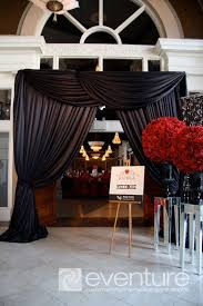 wedding entrance backdrop wedding backdrops for a tent specialty draping wedding