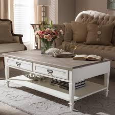 Accent Coffee Table Dauphine Traditional French Accent Coffee Table Free Shipping