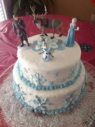 frozen themed cake share diy food recipes about frozen themed